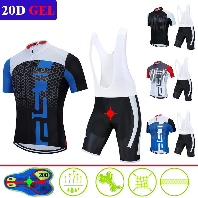 2020 Pro Scorpion Cycling Team Vestuário / Road Bike Wear Racing Roupa Breve Men Dry Ciclismo Jersey Set Ropa Ciclismo Maillot