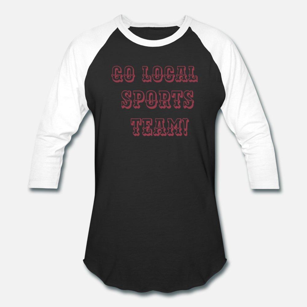 Go Local Sports Team T Shirt Men Cute Tee Shirt Size S-3xl Novelty Cute Casual Spring Leisure