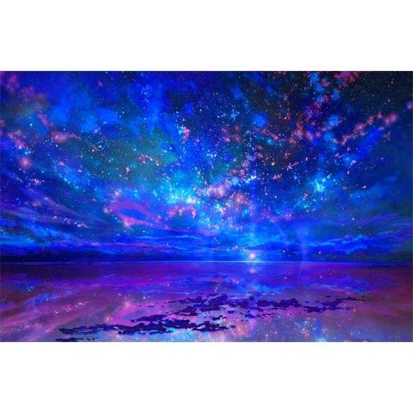 JMINE Div 5D Sky night Sea Ocean Full Diamond Painting cross stitch kits art High Quality Scenic 3D paint by diamonds 0922