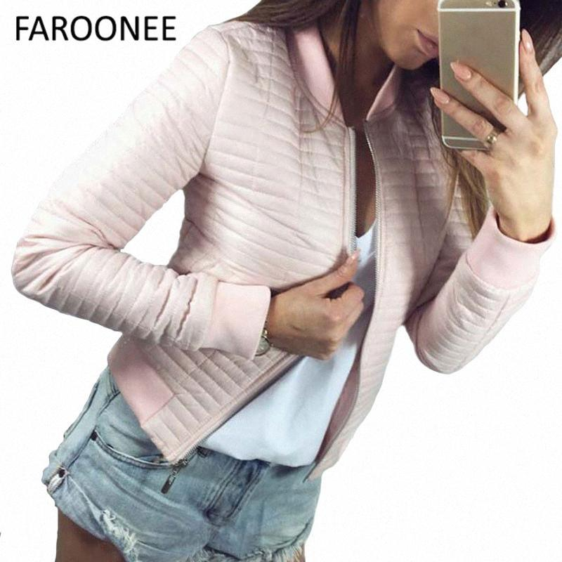 2019 Spring Autumn Coat Women Short Section Outerwear Cotton Padded Warm Female Jacket Outerwear Casual Parkas Thin Clothes 3WeK#