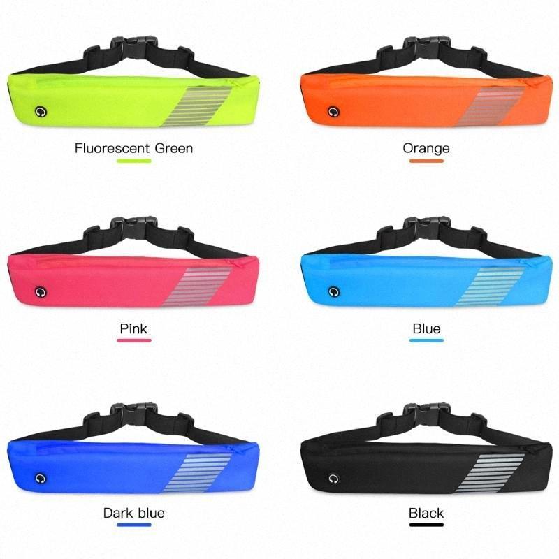 Ultra-Gürtel Licht Taille Beutel Wasserdichtes Gym-Telefon-Halter Mobiltelefon-Beutel Laufband Lauftasche Reit Bag Frauen Männer AGSB #