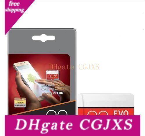 Carte mémoire Micro Sd 32gb Class10 Evo 64gb plus 128gb Tf Carte Flash USB pour enregistreur Dvr