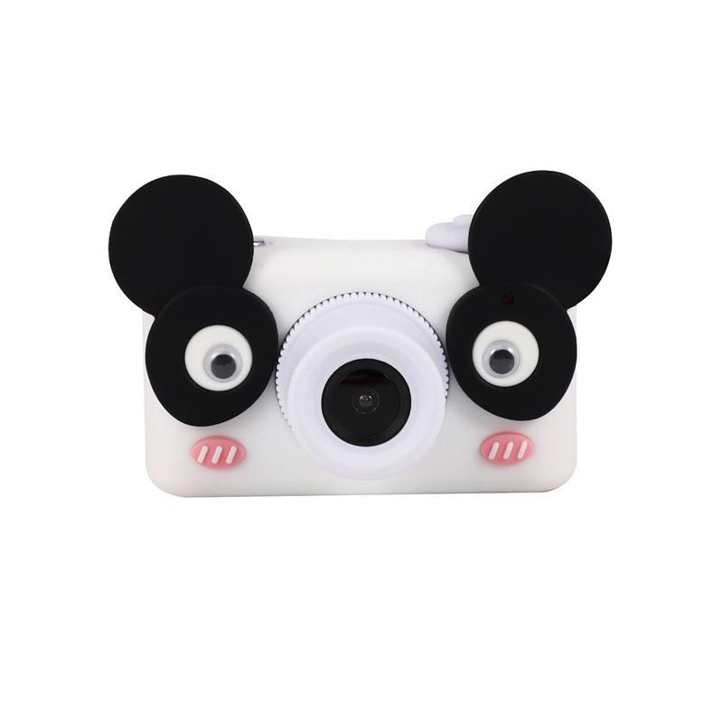 8.0MP HD Kinder Mini-Digital-Videokamera tragbare Camcorder mit 2,0 Zoll LCD-Display mit Cartoon-Aufkleber Kinder Geschenke Fotogra