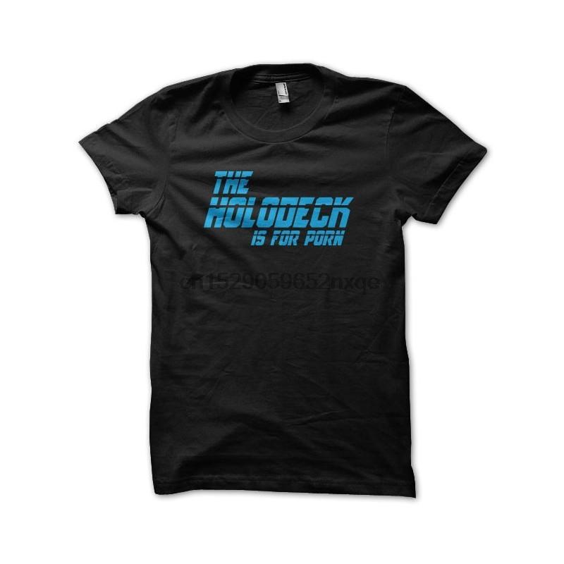 Les hommes T-shirt T-shirt Le Holodeck est pour T-shirts noirs porno T-shirt