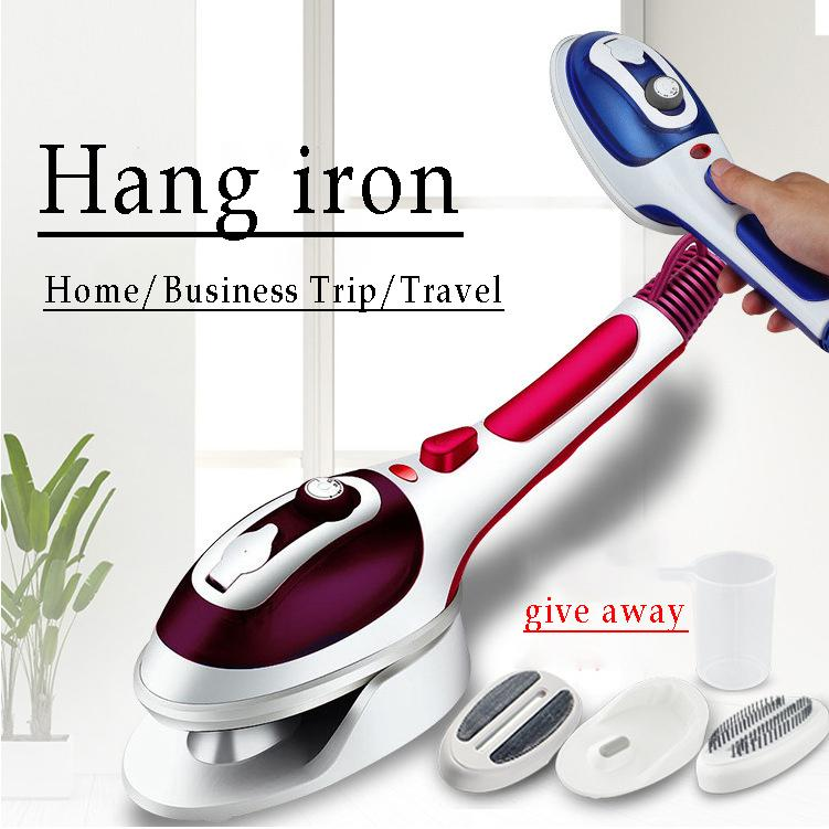 Handheld Steamer Powerful Garment Steamer Portable Fast-Heat Steam Iron Ironing Machine for Home Travel