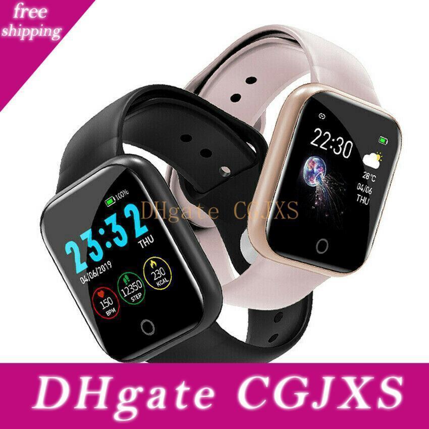 I5 Bt 4 .0 Smart Watch Wasserdicht Herzfrequenzmesser Fitness Tracker Blutdruck Mehrere Sport-Modus Smart Watch Armband