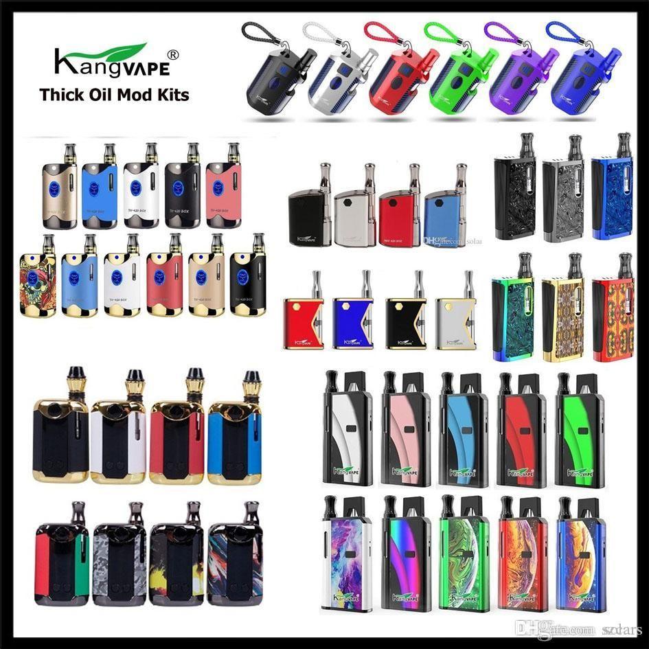 정통 Kangvape TH710 TH420 V2 미니 K 박스 Klasik V2 Zeus TH-420 V Vape Mod Kit 420 2in1 배터리 TH-710 2 II 650mAh