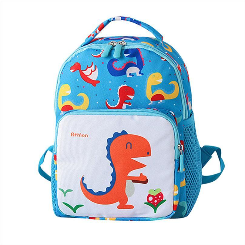 2019 dinosaurio de la historieta del bolso de escuela Boy Mochila chicas linda de la escuela Mochila Niño Animal bolsas de libros para niños de jardín de infancia los niños del bolso