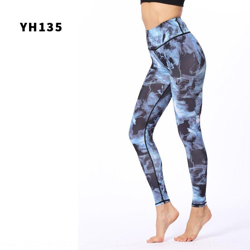 stampati alla caviglia a vita alta vestiti esercizio yoga tratto pantaloni pantaloni di yoga delle nuove donne vestiti 769Cm