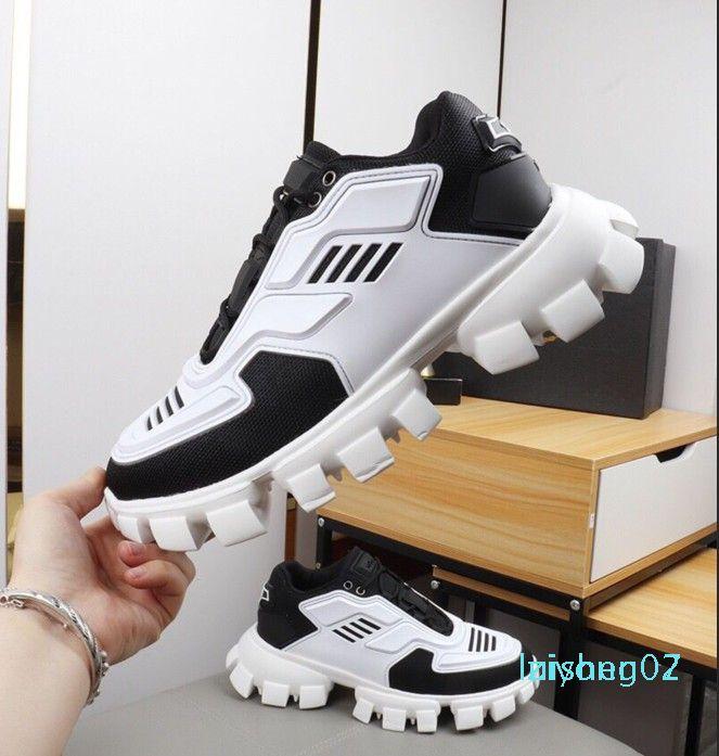 2020 nuova Cloudbust Thunder Knit scarpe da tennis di lusso del Mens Designer Scarpe Uomo sportivo classici pattini casuali Z07 tessuto Gomma formatori Outdoor
