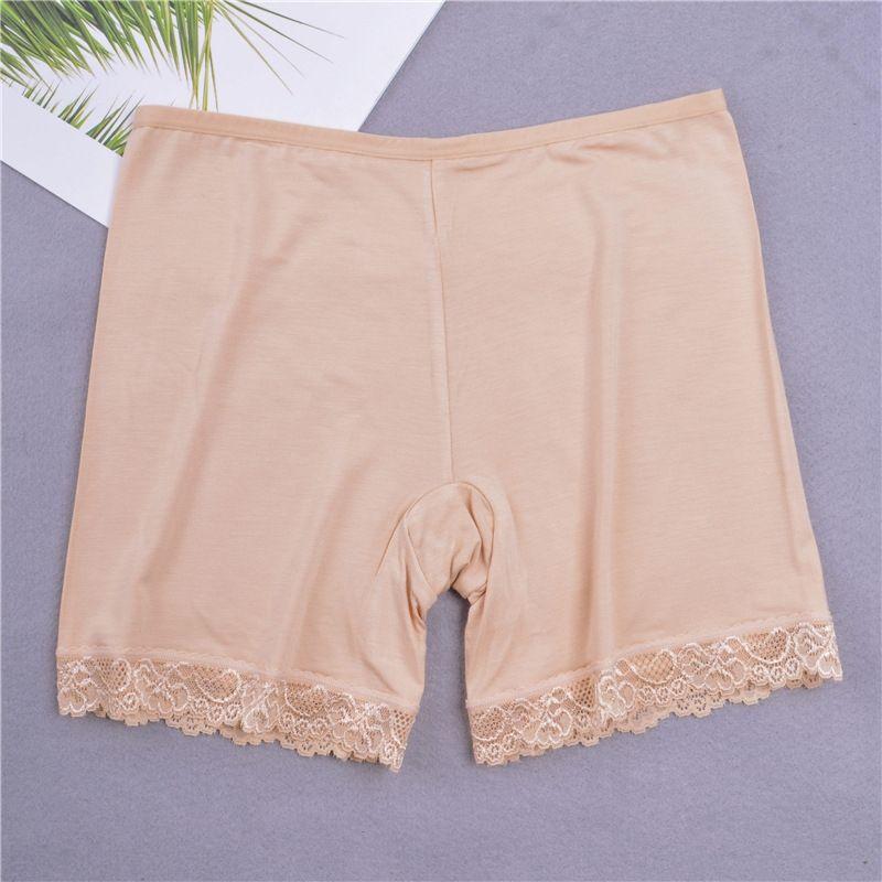 sryn8 protección contra la intemperie pantalones de las mujeres delgadas de encaje de seguridad de tres puntos del estiramiento delgado pantalones ajustados de seguridad de las polainas del verano apretados calzoncillos