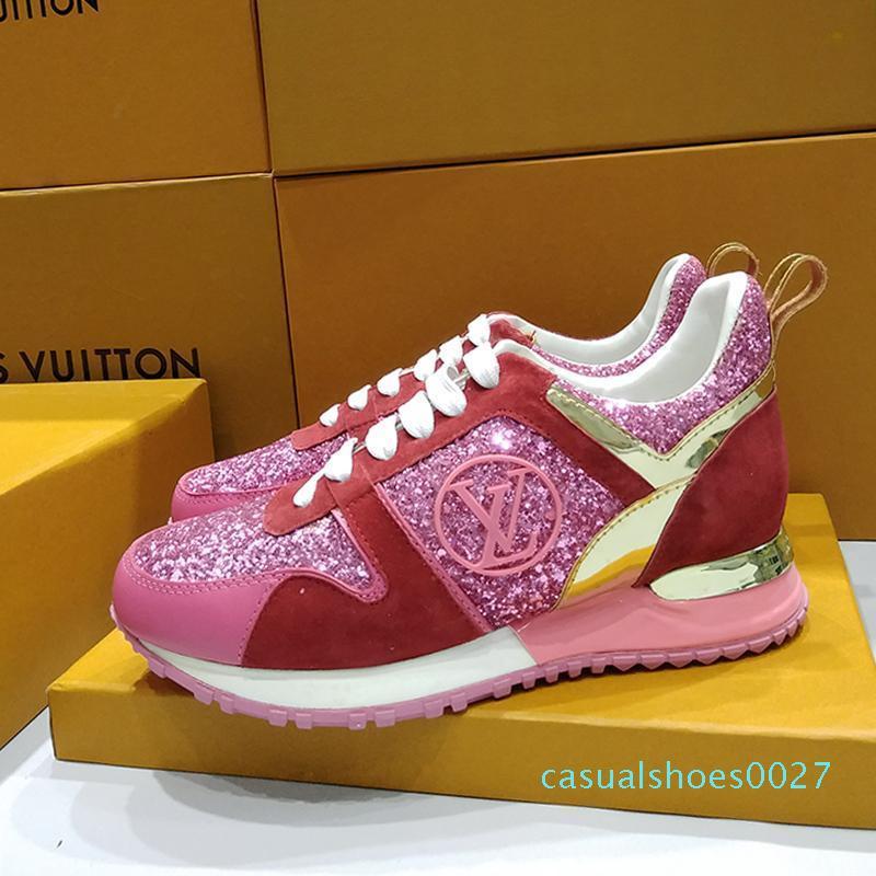Sıcak Bayan Ayakkabı Kadınlar Zapato C27 Deblasmanda Sneaker Bayan Ayakkabı Dantel -Up Chaussures De Femme Lüks Casual Sneakers Nefes Moda Çalıştır