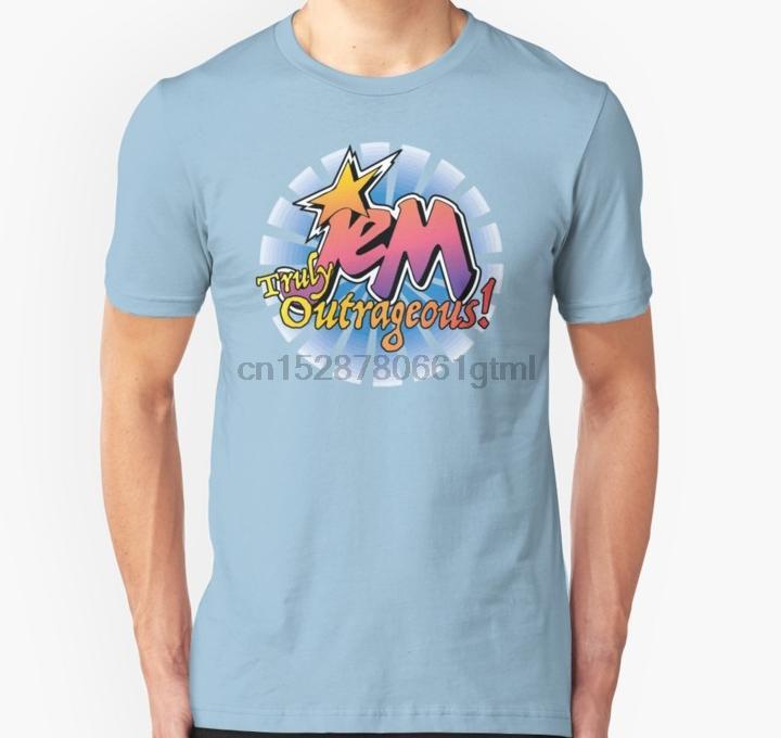 tshirt Short Hommes Jem Le Hologrammes unisexe T-shirt de femmes t-shirt