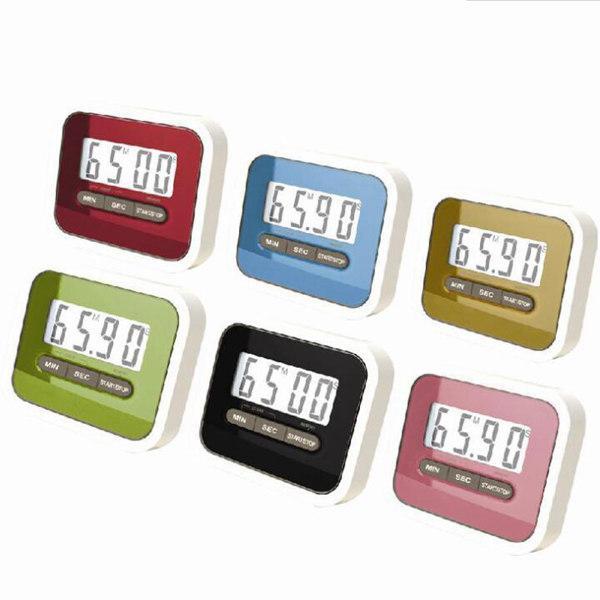 Cadeau de Noël numérique de cuisine Count Down / Up écran LCD Timer / Réveil avec clip support magnétique