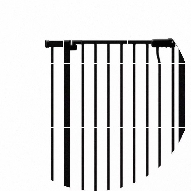 Gros- 2017 Vente chaude Fer à repasser Poêle à gaz solide Bouton d'arrêt Porte Porte bébé Sécurité pour bébé Barrière de sécurité enfants Étendre Pannel 14cm 7cm et 32cm 45c lqG6 #