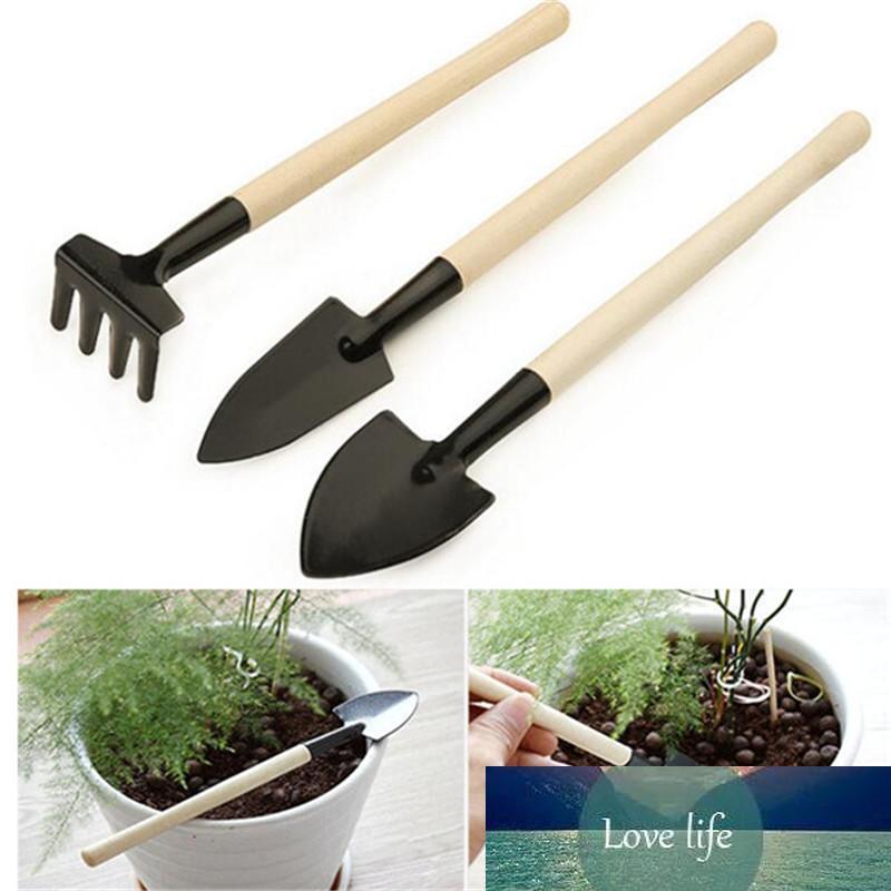 3Pcs/Set Mini Compact Plant Garden Tool Kit plant tool Spade Shovel For Home Garden Use