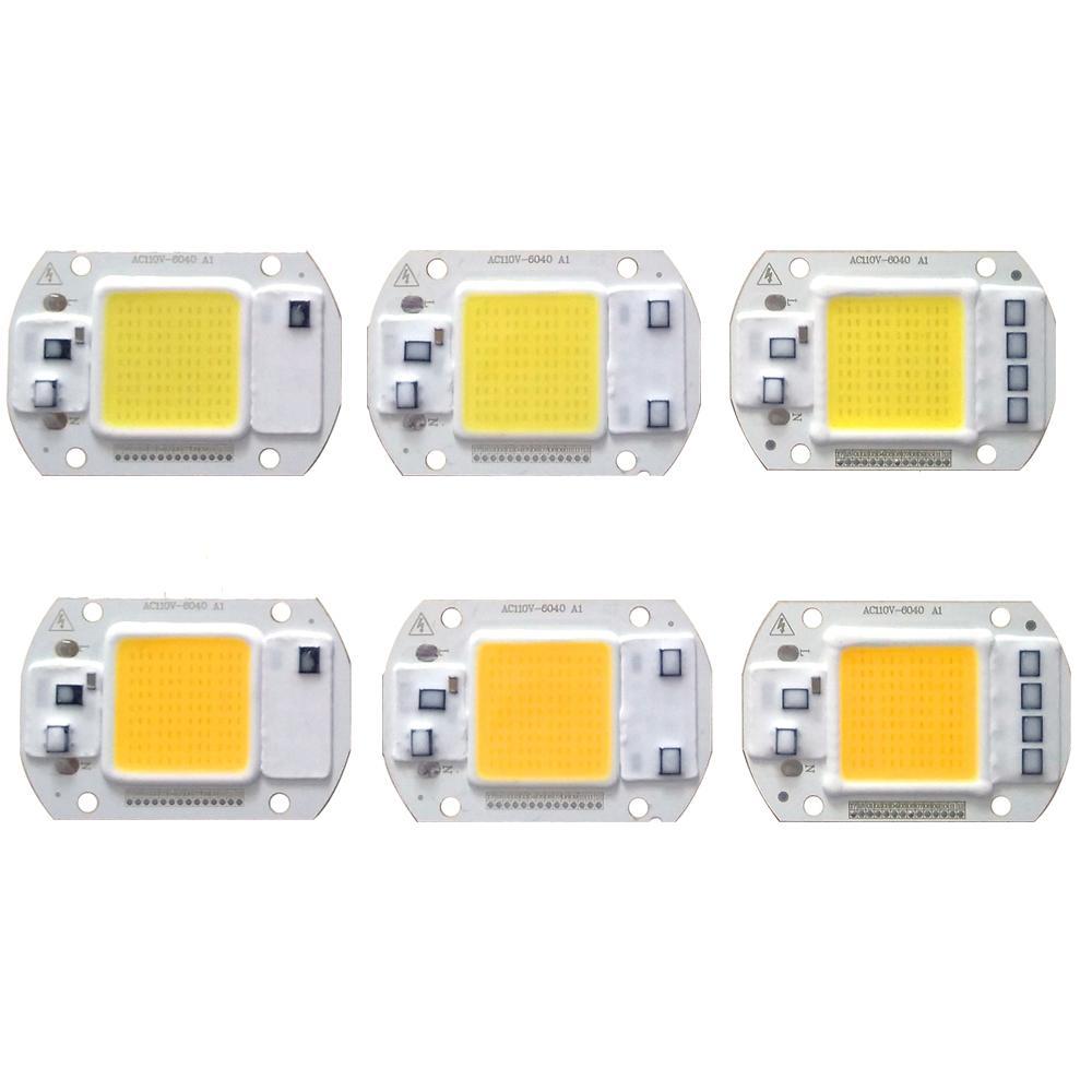 10PCS / LOT LED COB رقاقة 20W 30W 50W 220V الإدخال سائق الخفيفة الخرز الذكية IC لDIY الكاشف في الهواء الطلق