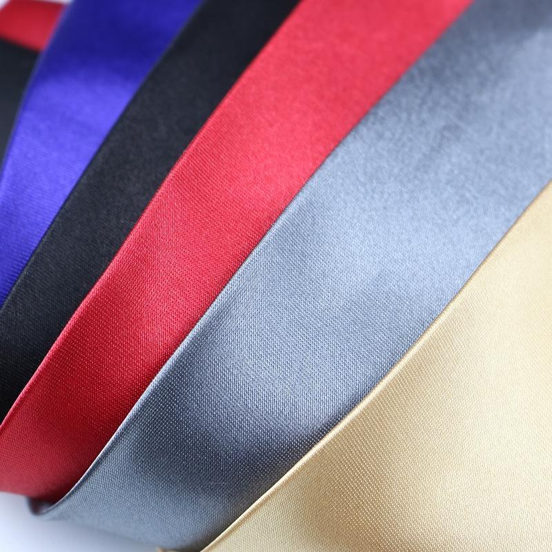 imitação dos homens LTWh1 Laço cinco centímetros preguiçoso cor monocromática sólida laço dos homens imitação de seda cinco centímetros preguiçoso cor monocromática sólida Silk zipper zipper zipper