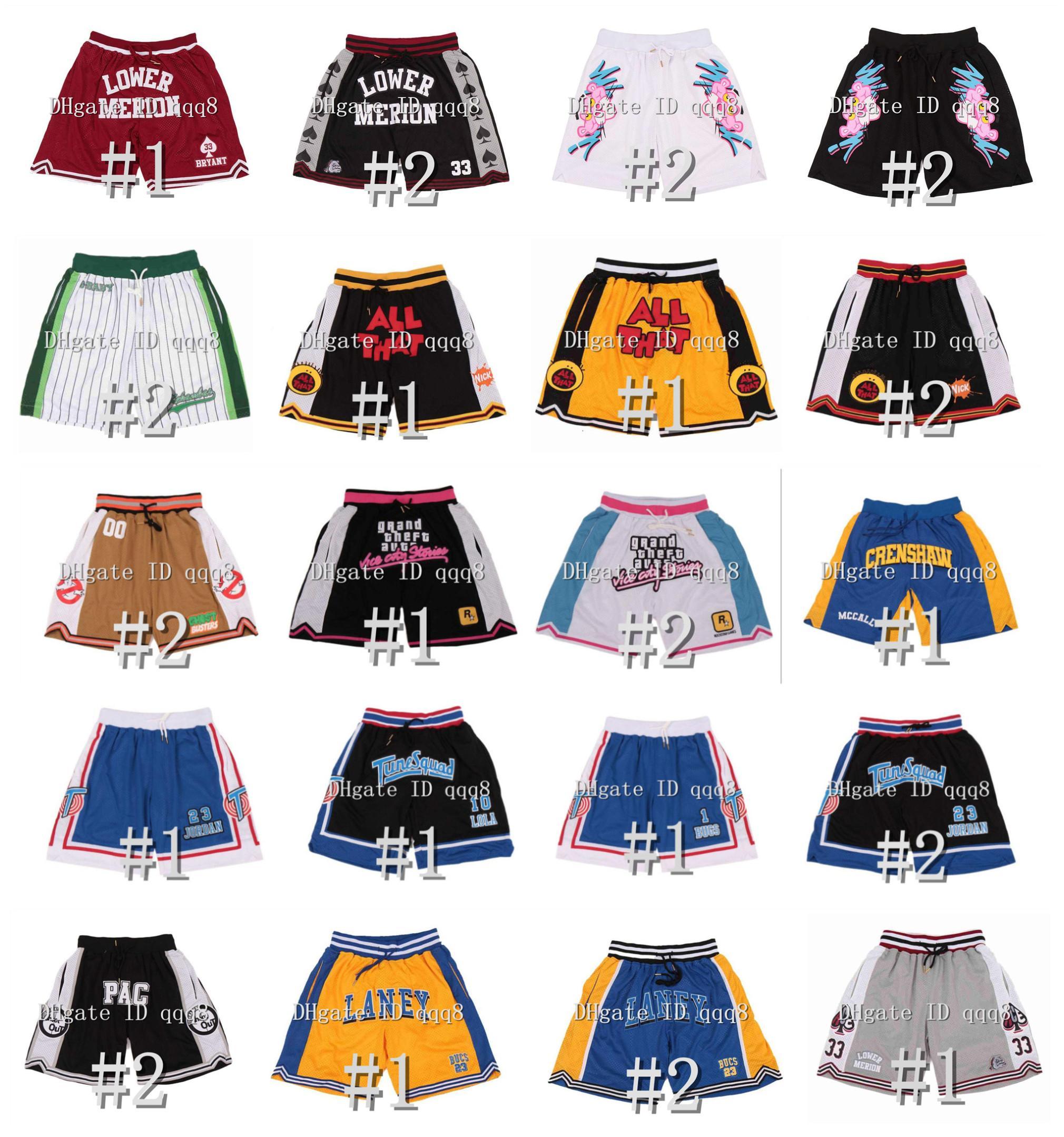 أعلى جودة! انخفاض السراويل القصيرة كل ما لحن الفضاء الفضاء Laney G-Baby Hardball Sports Shorts تدريب البيسبول السراويل مع جيوب سحاب