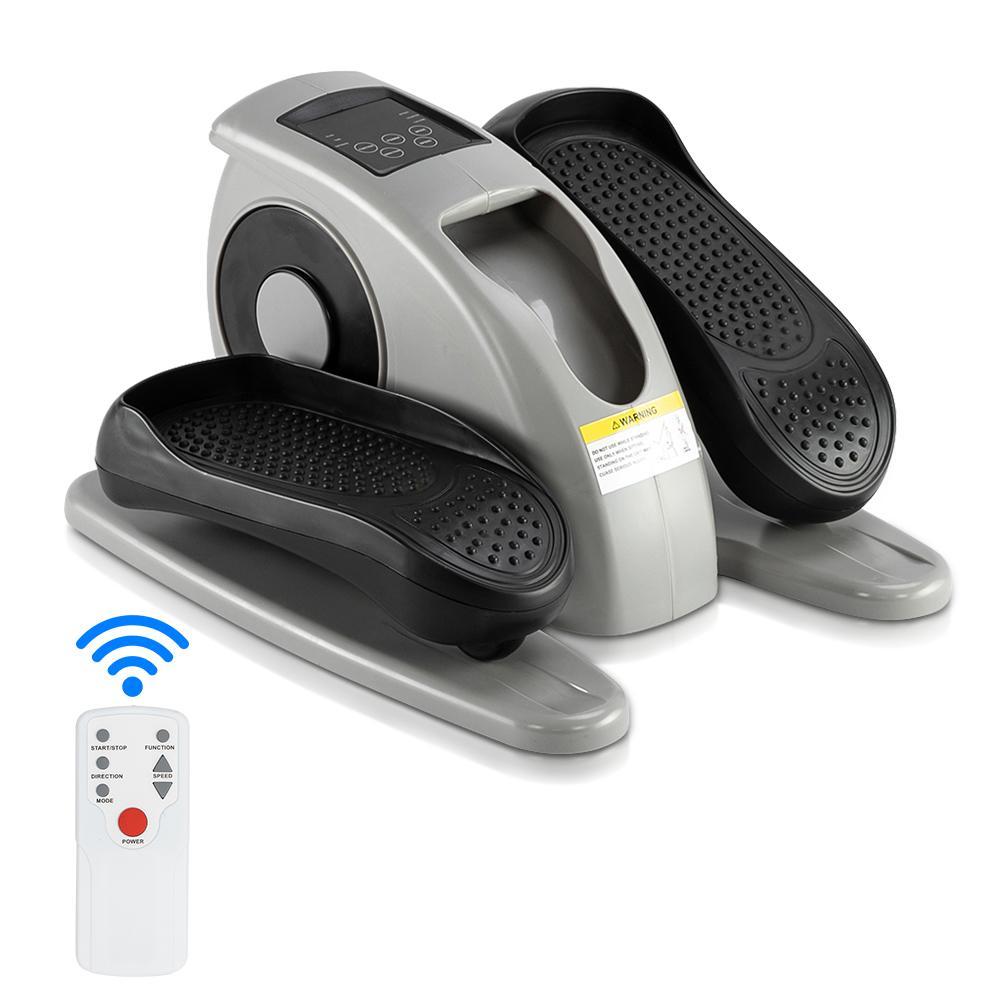 Портативные Упражнения Степпер бытовой мини-эллиптической машины Тренеров ног ABS-железная электрическая модель с дистанционным управлением
