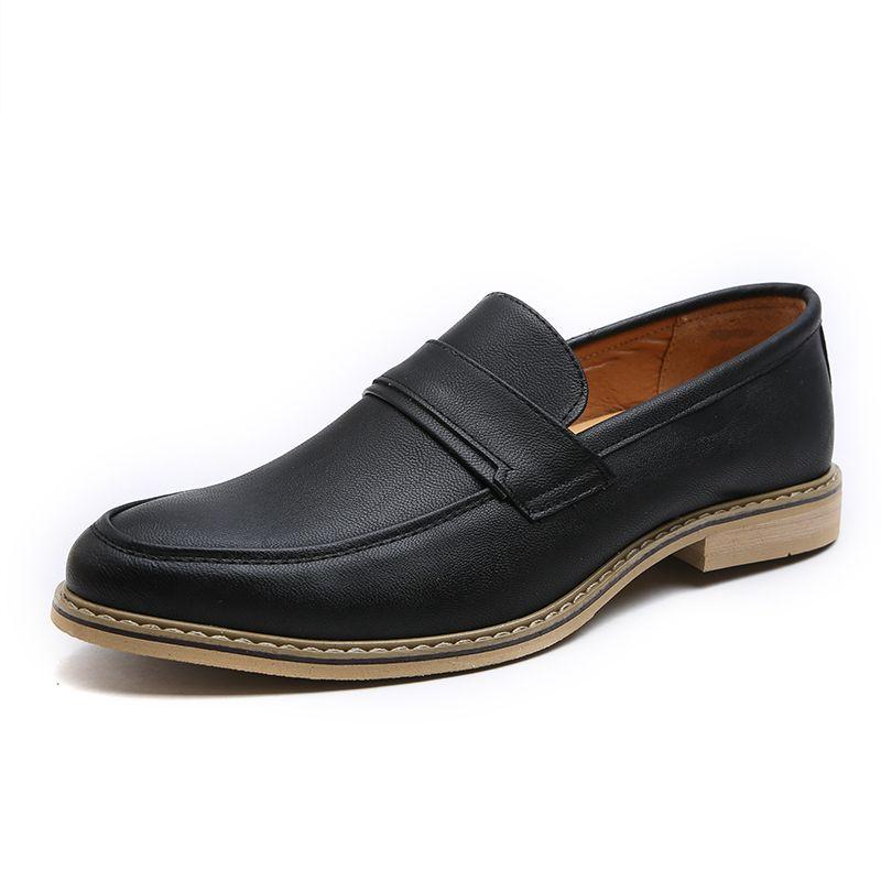 Homens Oxford sapatos para homens de couro Handmade Luxo Sapatos Moda Couro Sapato de bico fino