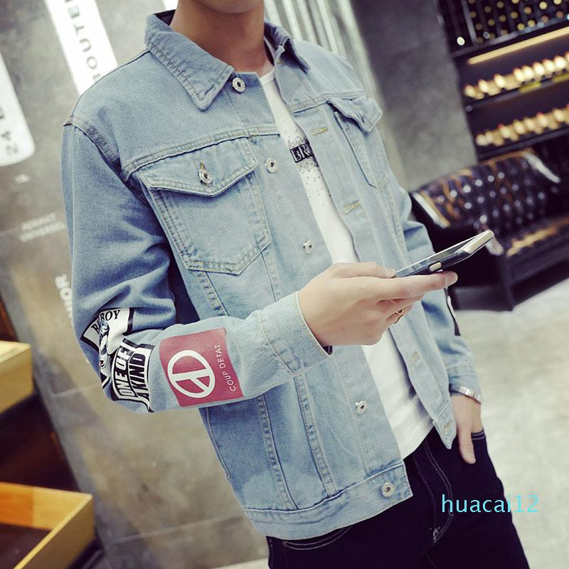 Hot Sale Men's S Denim Jacket High Quality Fashion Jeans Jackets Slim Fit Casual Cool Streetwear Vintage Mens Jean Clothing Plus Size M -5xl
