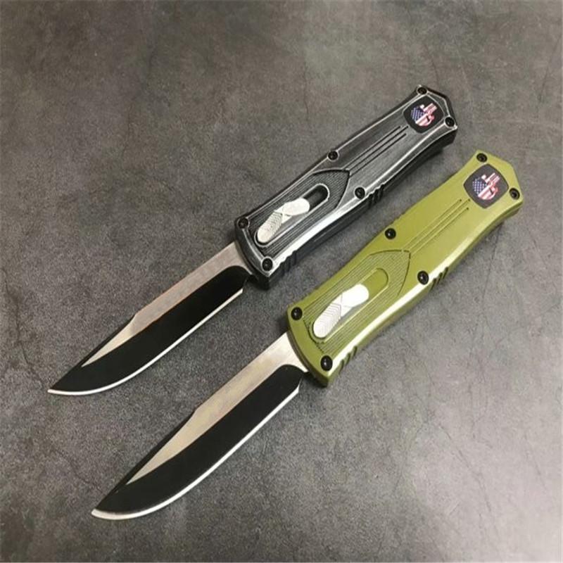 MT 857 récent fantôme couteau droit 2 modles Hunting collection de couteaux de poche couteaux cadeau de Noël pour le dropshipping hommes
