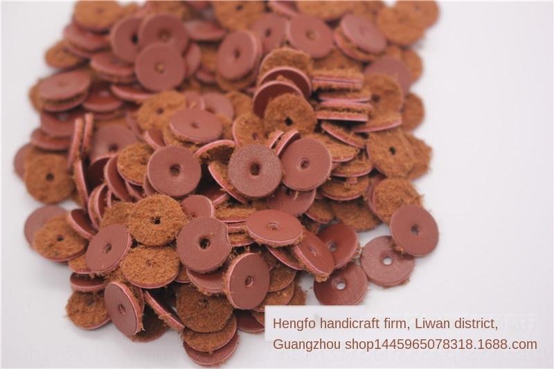 Thin bovina spcer 500 pezzi confezione da 6 8 10 12 14 millimetri Buddha perline guarnizione pad Bracciale diametro imitazione cinturino in pelle in pelle pad Buddha