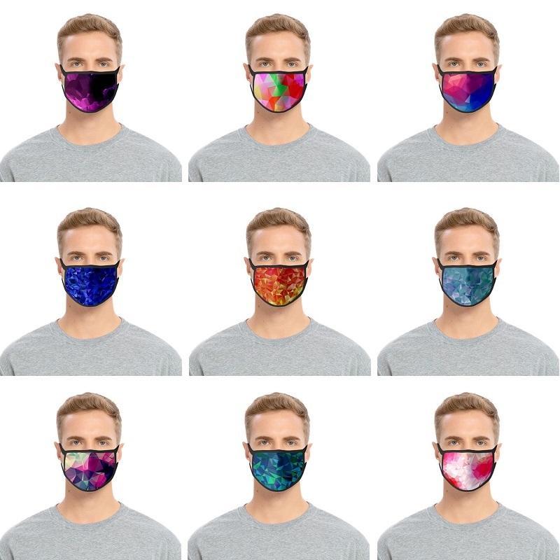 Дизайнер маски для лица хлопок можно стирать и многоразовые маски для лица из дверей Спорта езда Маски Cotton Проектировщик маски Бесплатной доставки