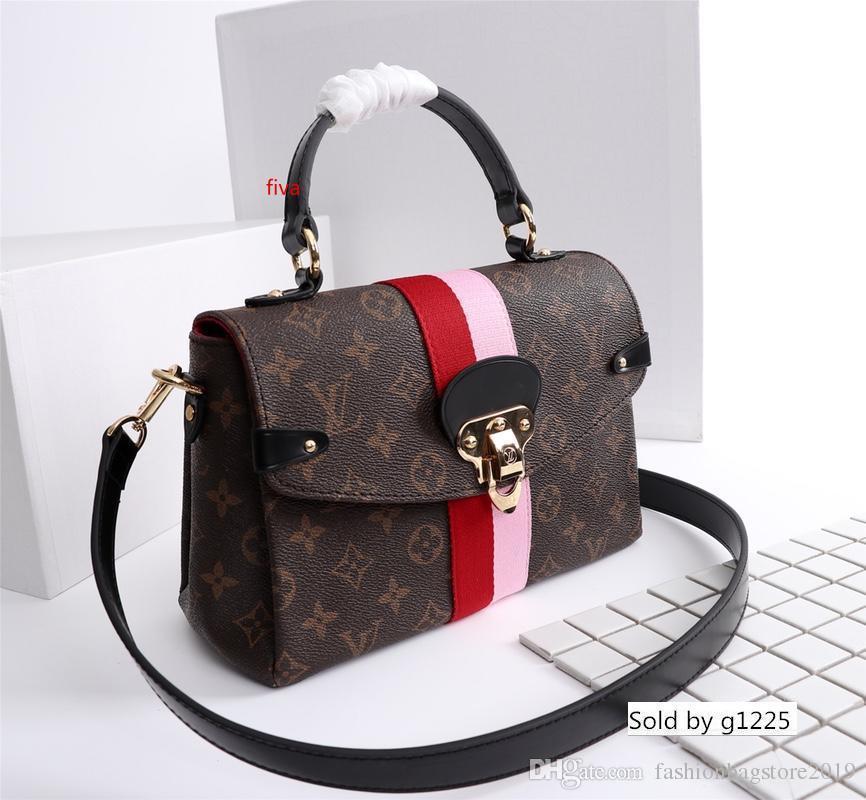 LuxuryMen seyahat Çanta Bayan çanta gerçek deri Çantalar Deri Keepall 45 Omuz Çantaları M48998 totes