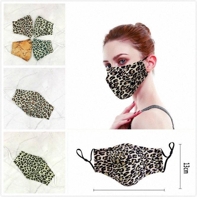 Леопардовый мультфильм хлопок Маска для лица Рот черный Anti-Dust Анти загрязнения Респиратор маска Мода DHB66 ezS6 #