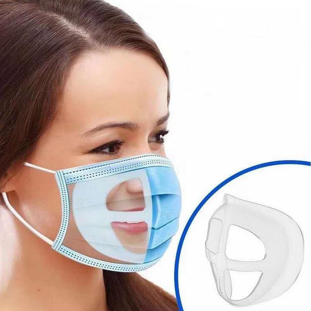الفم قناع حامل الفم والأنف دعم تغطية الوجه قطعة أثرية القوس حامل الداخلية سهولة التنفس حامل الفضاء تغطية الفم قابلة لإعادة الاستخدام القوس