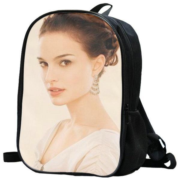 حزمة اليوم ناتالي بورتمان على ظهره حقيبة مدرسية Hershlag ستار مثير packsack الجودة حقيبة الرياضة المدرسية Daypack حقيبة في الهواء الطلق