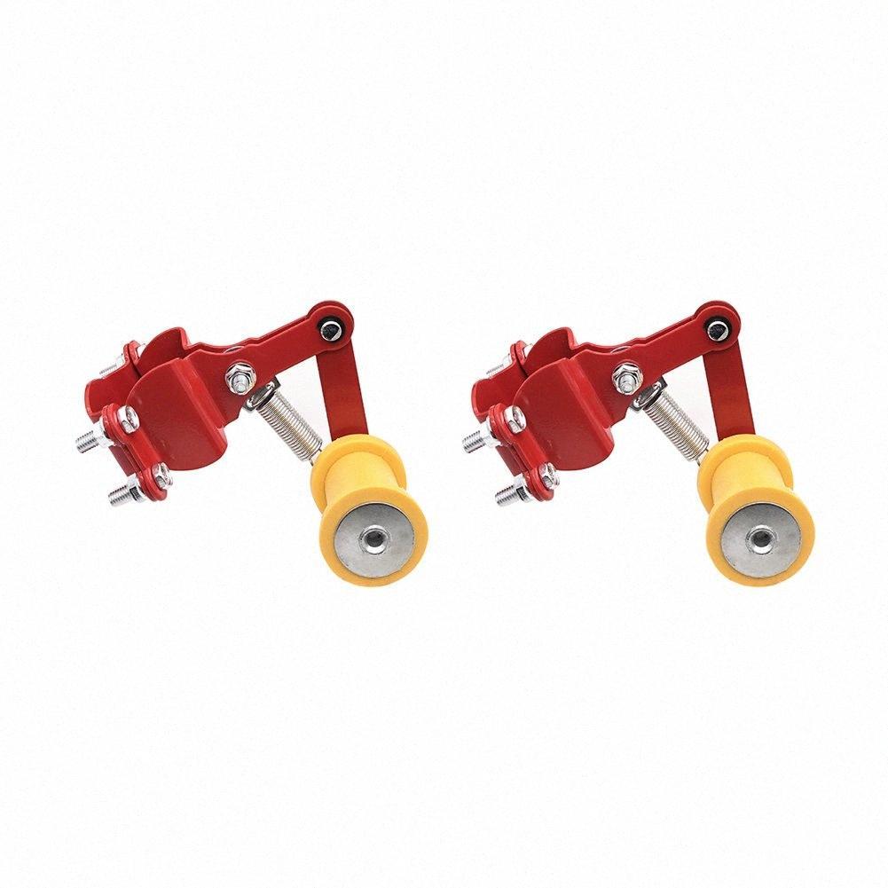 2PCS automatique Tendeur modifié petites pièces régleur chaîne Installation facile rouleau ferme durable de Bolt moto extérieure outil PKIT #