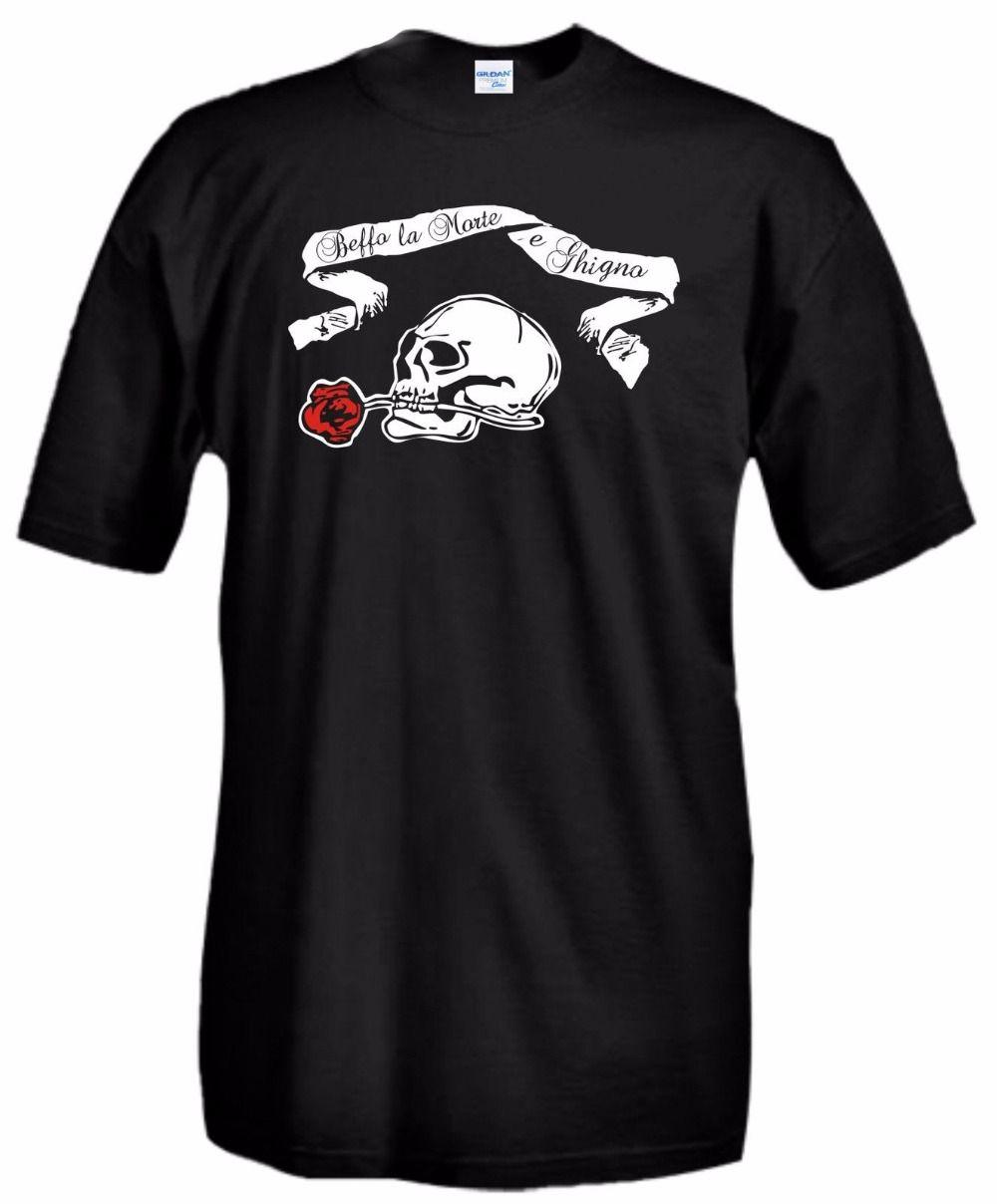 Individuell gestaltete T-Shirts Männer-T-Shirts La Felpa E Sorridere Fiume Motti Annunzio T-Shirt Sweatshirt