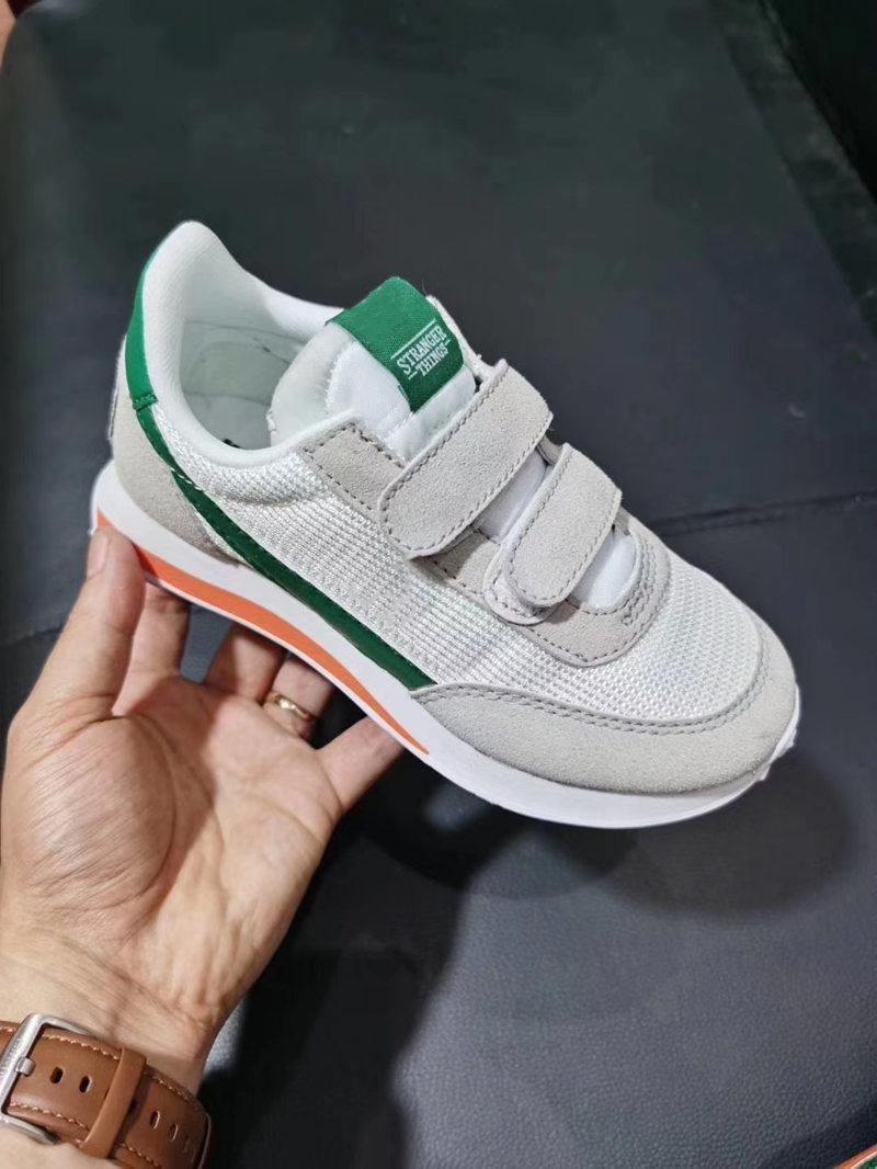Новый Infant интернационалисты вафельного Racer Дети Идущих тапки обувь chaussure де спорт налить Enfant мальчиков девочек вскользь тренер