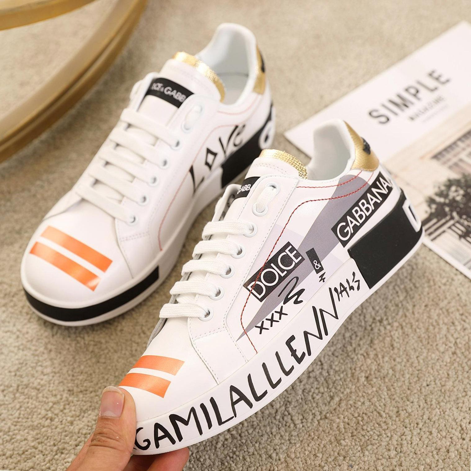 zapatos de lujo superior limitada de los hombres y las mujeres de cuero casual, alta calidad par de zapatos de la impresión del modelo de moda salvaje calzado deportivo Tamaño: 35-45 0031