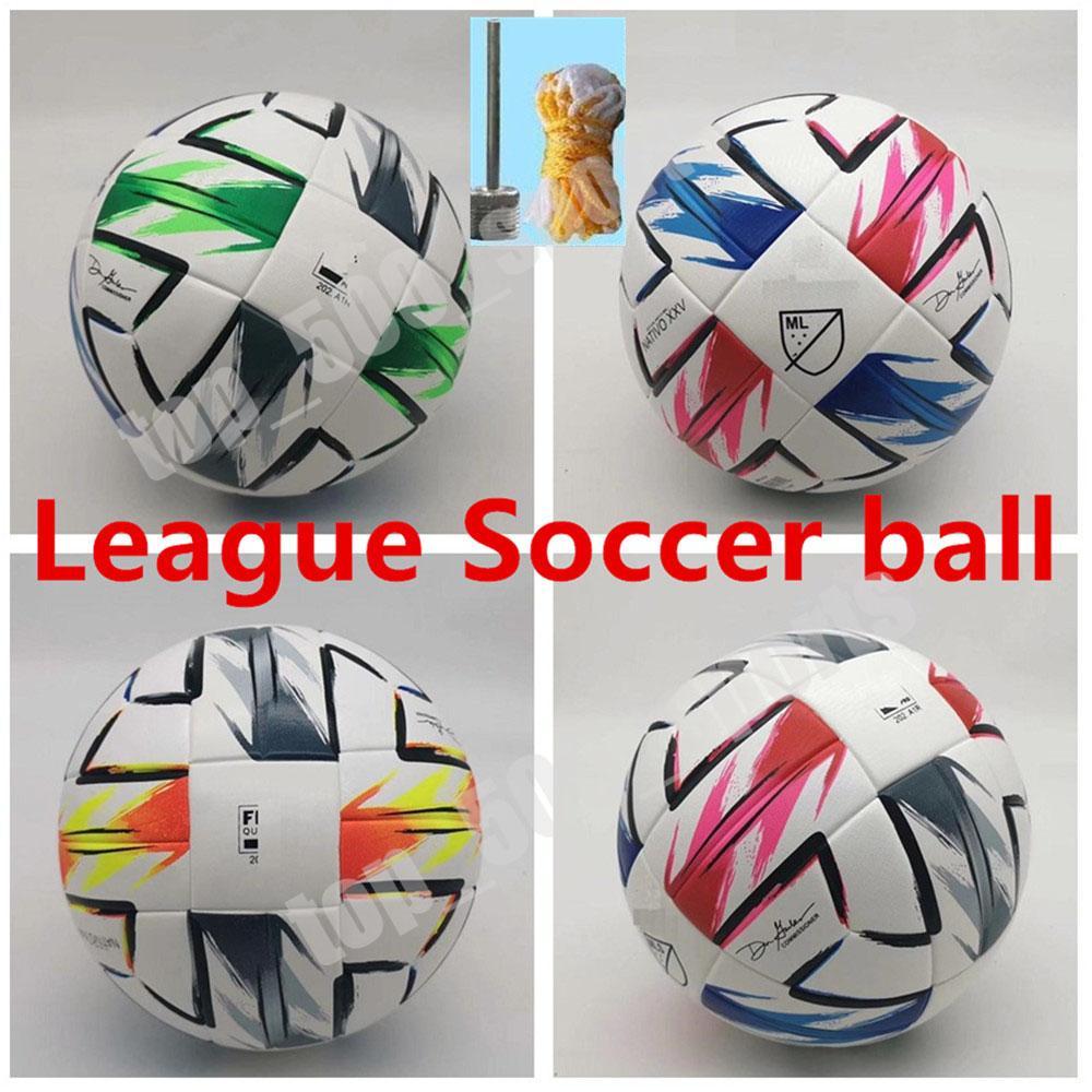 2020 아메리칸 리그 고품질의 볼 MLS 축구 공 (20) (21) 최종 키예프 PU 크기 5 공 과립 미끄럼 방지 축구 무료 배송