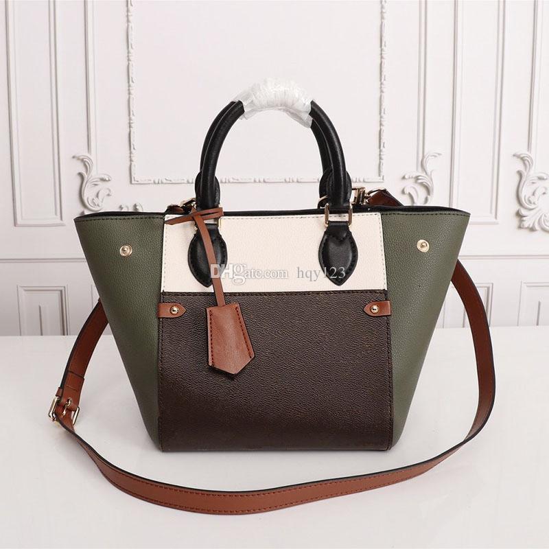 Flod حمل حقائب اليد الصغيرة للنساء الساخنة عالية الجودة المعروفة اليد أزياء حقائب مصمم حقائب العلامة التجارية الحجم 20x22x18cm نموذج M45389
