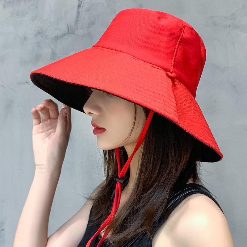 Летней женщины Широкий Большой Брим ВС Hat Мода Хлопок Blende Козырьки Cap для женщин Lady Красочные Casual пляж Cap шлемов Sun