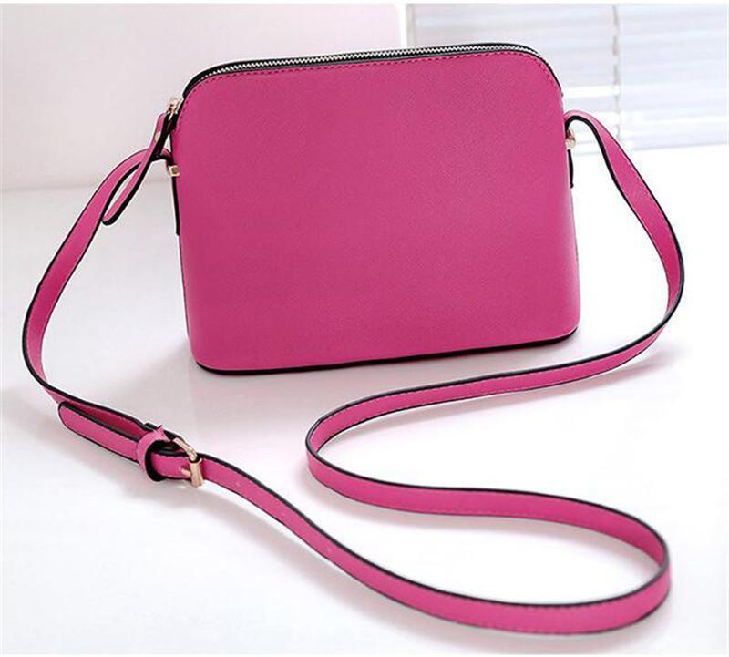 Handtaschen Geldbörse Mode Luxus Leder Designer Tasche Frau Weibliche Umhängetasche Kleine Mode Messenger Marke Muschel Schulter 2020 9 c Orutf