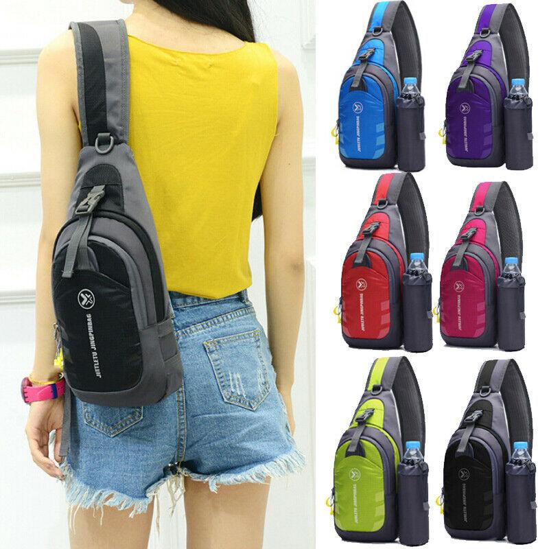 Local stock Waterproof Small Chest Bag Travel Sport Shoulder Sling Cross Body Gift