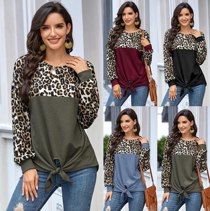 Donne casual da primavera Delle Donne con modelli Nuova moda Autunno Felpe Felpe per Lady Tees Wholesale T-shirt da donna Tops Tops S-XL opzionale