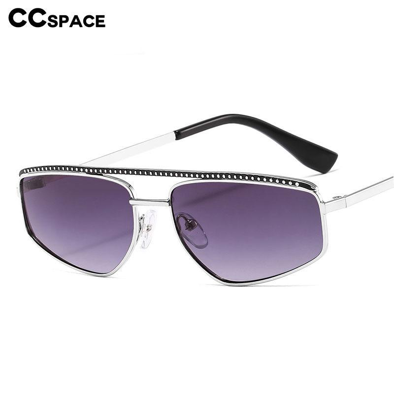 Óculos de sol Rivet Eye Shades Metal Quadro Gato Homens Óculos Moda 46530 UV400 Vintage Luxo LPAXL