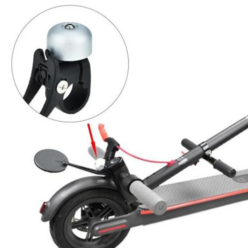 Aluminum Alloy Folding Hook Bell Electric Scooter Safety For Xiaomi Mijia M365