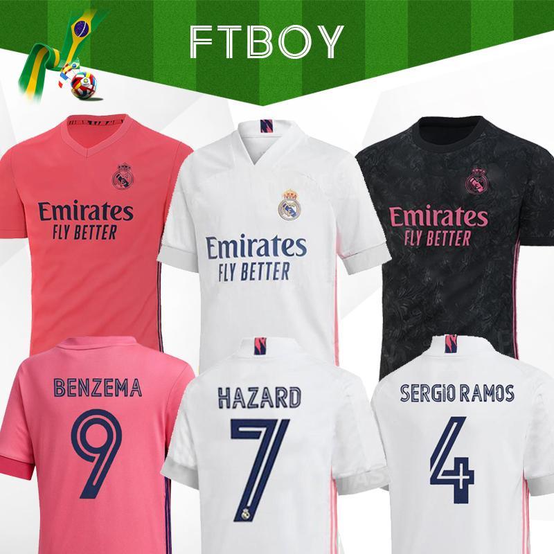 ريال مدريد بالقميص كيت 2020 قميص أخطار إيسكو REINIE جيرسي لكرة القدم سيرجيو راموس مودريتش F.MENDY كرة القدم الزي الرسمي 20 21 camisetas EA الرياضية