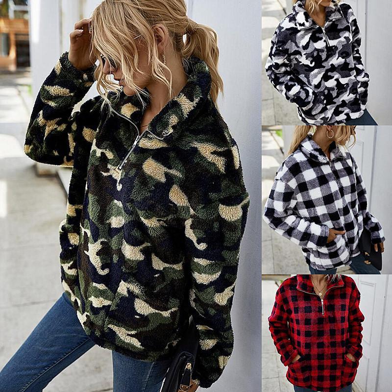 Women's 2020 winter tie-dye fur coat womens down winter coat ladies winter coats jacket Streetwear casual fashion jackets Free shipping
