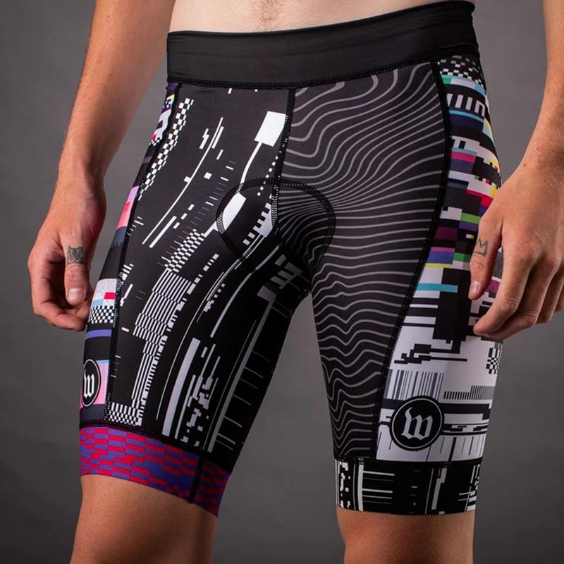 2020 Wattie pantalones cortos de ciclismo TINTA personalizada verano Ropa Ciclismo de bicicletas MTB cortocircuitos al aire libre prendas de vestir pantalones de los hombres de la bici apretado Riding