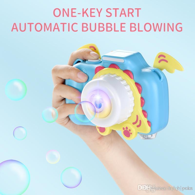 Cat Camera Automatic Music Bubble Machine Children Toys Soap Blow Bubbles Outdoor Bubbler Maker Kids Toys Birthday Gift