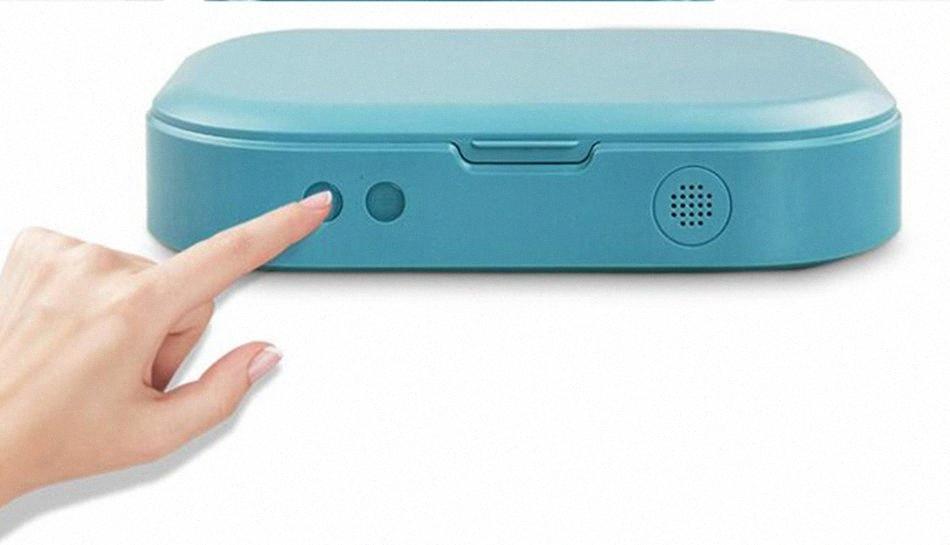 Box Portátil Esterilizador UV Caso Sanitizer Box desinfecção máquina de carga para Face Boca Máscaras Telefone Relógios Óculos LJJA3979 oEtR #